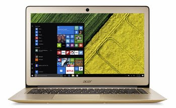 "Acer Swift NX.GKKEH.017 2.50GHz i5-7200U 14"" 1920 x 1080Pixels Goud Notebook notebook"