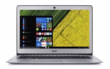 """Acer Swift SF314-51-309V 2.4GHz i3-7100U 14"""" 1920 x 1080Pixels Zilver Notebook"""