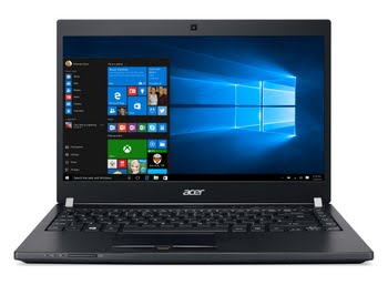 "Acer TravelMate P648-G2-M-78SP 2.70GHz i7-7500U 14"" 1920 x 1080Pixels Zwart Notebook"