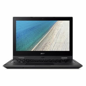 "Acer TravelMate Spin B1 B118-R-C65T 1.10GHz N3450 11.6"" Touchscreen Zwart Hybride (2-in-1)"