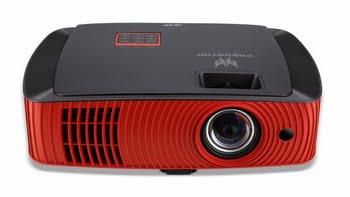 Acer Z650 Projector met wandmontage 2200ANSI lumens DLP 1080p (1920x1080) Zwart, Rood beamer/projector