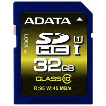 ADATA SDHC 32GB 32GB SDHC UHS Klasse 10 flashgeheugen