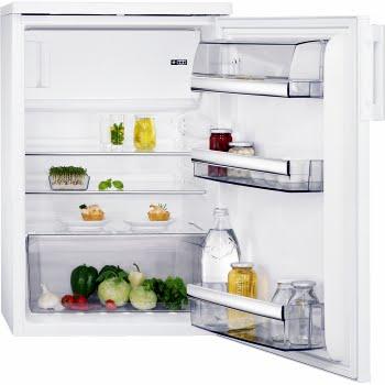 AEG RTS8142XAW Vrijstaand 133l A++ Wit combi-koelkast