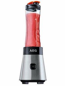 AEG SB 2500 Staande mixer 0.6l 300W Zwart, Roestvrijstaal blender