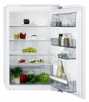 AEG SKB68821AF Ingebouwd 137l A++ Wit koelkast