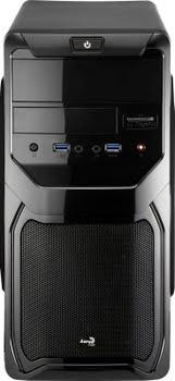 Aerocool QS-183 Advance Mini-Toren Zwart computerbehuizing