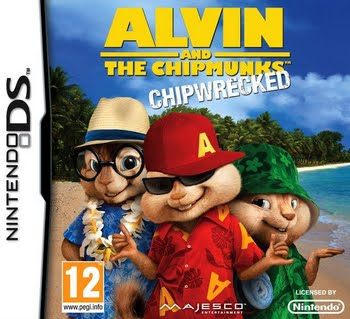 Alvin and the Chipmunks Chipwrecked (Nintendo DS)