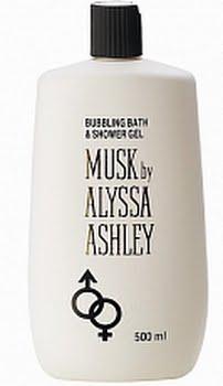 Alyssa Ashley Musk Bath And Showergel 500ml
