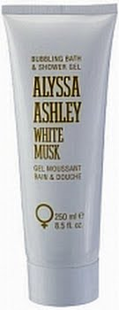 Alyssa Ashley White Musk Bath And Showergel 250ml