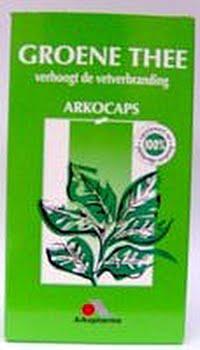 Arkocaps Groene Thee Capsules 150caps