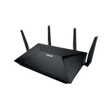 ASUS BRT-AC828 Dual-band (2.4 GHz / 5 GHz) Gigabit Ethernet 3G 4G Zwart draadloze router