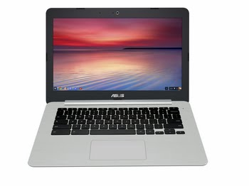 "ASUS Chromebook C301SA-FC032 1.6GHz N3160 13.3"" 1920 x 1080Pixels Grijs, Zilver Chromebook"