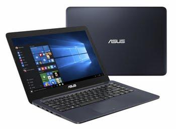"ASUS EeeBook R417NA-GA130T 1.10GHz N3350 14"" 1366 x 768Pixels Blauw Notebook"