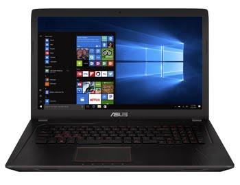 "ASUS FX753VD-GC171T 2.5GHz i5-7300HQ 17.3"" 1920 x 1080Pixels Zwart Notebook"