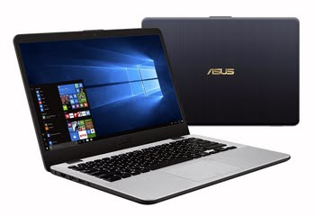 """ASUS R418UA-BM350T 2.4GHz i3-7100U 14"""" 1920 x 1080Pixels Grijs, Zilver Notebook"""