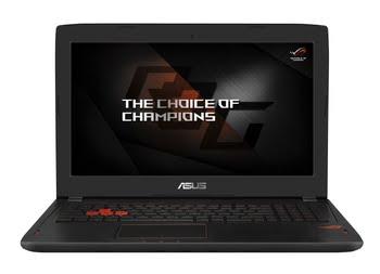 """ASUS ROG GL502VS-FY250T 2.8GHz i7-7700HQ 15.6"""" 1920 x 1080Pixels Zwart Notebook"""