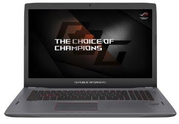 """ASUS ROG Strix GL702VS-GC198T 2.8GHz i7-7700HQ 17.3"""" 1920 x 1080Pixels Titanium Notebook"""