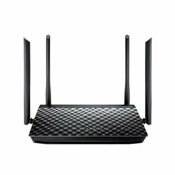 ASUS RT-AC1200G+ Dual-band (2.4 GHz / 5 GHz) Gigabit Ethernet Zwart