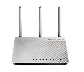 ASUS RT-AC66U Dual-band (2.4 GHz / 5 GHz) Gigabit Ethernet Wit 3G 4G