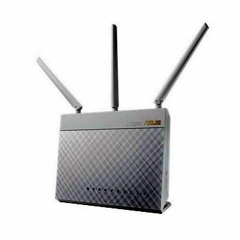 ASUS RT-AC68U Dual-band (2.4 GHz / 5 GHz) Gigabit Ethernet Wit
