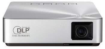ASUS S1 200ANSI lumens DLP WVGA (854x480) Draagbare projector Zilver