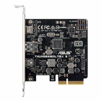 ASUS ThunderboltEX 3 Intern Thunderbolt 3,Thunderbolt interfacekaart/-adapter