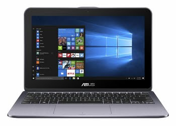 "ASUS VivoBook Flip TP203NA-BP028T 1.10GHz N3350 11.6"" 1366 x 768Pixels Touchscreen Grijs Hybride (2-in-1)"