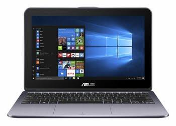"ASUS VivoBook Flip TP203NA-BP029T 1.1GHz N3350 11.6"" 1366 x 768Pixels Touchscreen Grijs Hybride (2-in-1)"