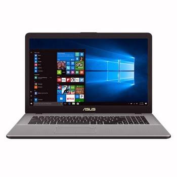 """ASUS VivoBook N705UD-GC128T 1.8GHz i7-8550U 17.3"""" 1920 x 1080Pixels Grijs, Metallic Notebook"""
