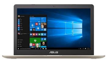 "ASUS VivoBook Pro N580VD-FJ285T 2.8GHz i7-7700HQ 15.6"" 3840 x 2160Pixels Goud, Metallic Notebook"