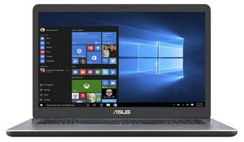 "ASUS VivoBook X705NA-BX033T 1.1GHz N3350 17.3"" 1600 x 900Pixels Grijs Notebook"