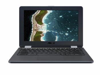 "ASUSPRO C213NA-BW0026 1.10GHz N3350 11.6"" 1600 x 900Pixels Touchscreen Grijs Chromebook"