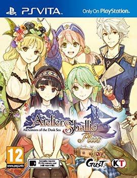 Atelier Shallie Plus: Alchemists of the Dusk Sea (PS Vita)