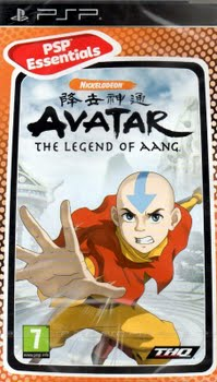 Avatar the Legend of Aang (essentials) (Sony PSP)
