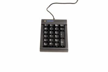 BakkerElkhuizen Goldtouch USB Numerieke Zwart