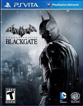 Batman Arkham Origins Blackgate (PS Vita)