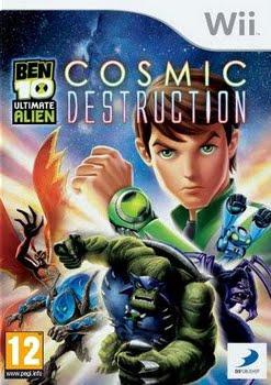 Ben 10 Ultimate Alien Cosmic Destruction (Nintendo Wii)