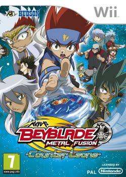 Beyblade Metal Fusion (Nintendo Wii)