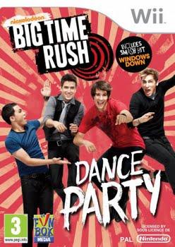 Big Time Rush Dance Party (Nintendo Wii)