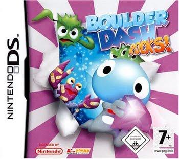 Boulder Dash Rocks (Nintendo DS)