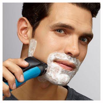 Braun Series 3 Shave&Style 3010BT Foil shaver Trimmer Zwart, Blauw scheerapparaat