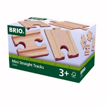 BRIO korte rechte rails 33333