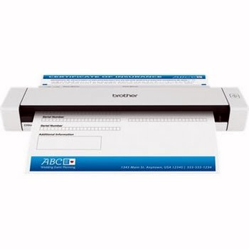 Brother DS-620 Papier-gevoerd 600 x 600DPI A4 Zwart, Wit scanner