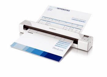 Brother DS-820W Papier-gevoerd 600 x 600DPI A4 Wit scanner