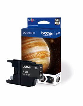Brother LC1240BK Inktcartridge, Zwart