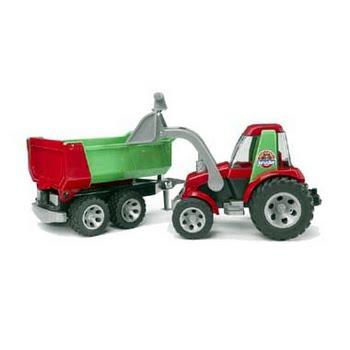 Bruder Roadmax tractor met voorlader