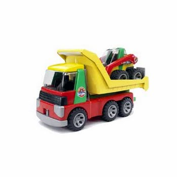Bruder Roadmax transportwagen en schranklader