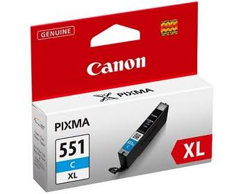 Canon CLI-551XL C w/sec Cyaan inktcartridge