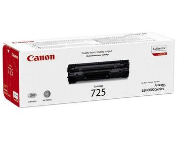 Canon CRG 725 Cartridge 1600pagina's Zwart