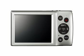 """Canon Digital IXUS 185 Compactcamera 20MP 1/2.3"""" CCD 5152 x 3864Pixels Zilver"""